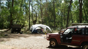 Camp at Mt Stanley