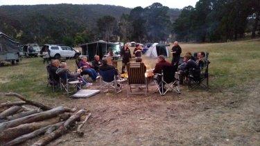 Camp at Glenpatrick