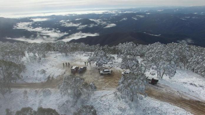 Top of Mt Terrible